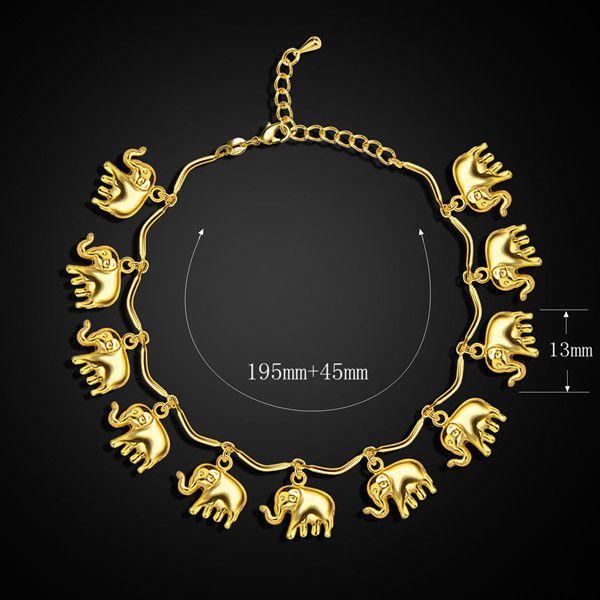 A Suit of Elephant Necklace and Bracelet