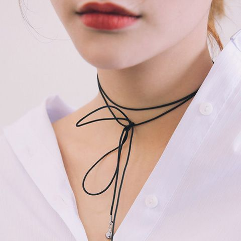 Stylish Ball Shape Layered Wrap Necklace