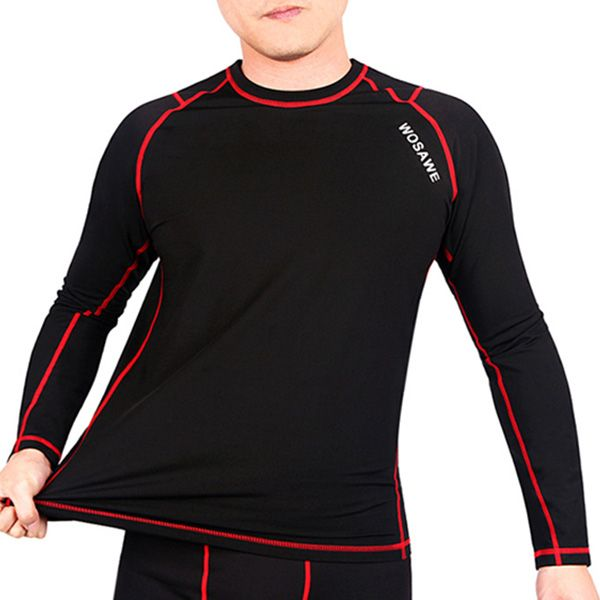 Fashionable Warmth Thermal Fleece Base Layer Cycling Jersey+ Pants For Unisex