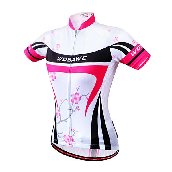 Trendy Summer Outdoor Plum Blossom Pattern Cycling Clothes For Women
