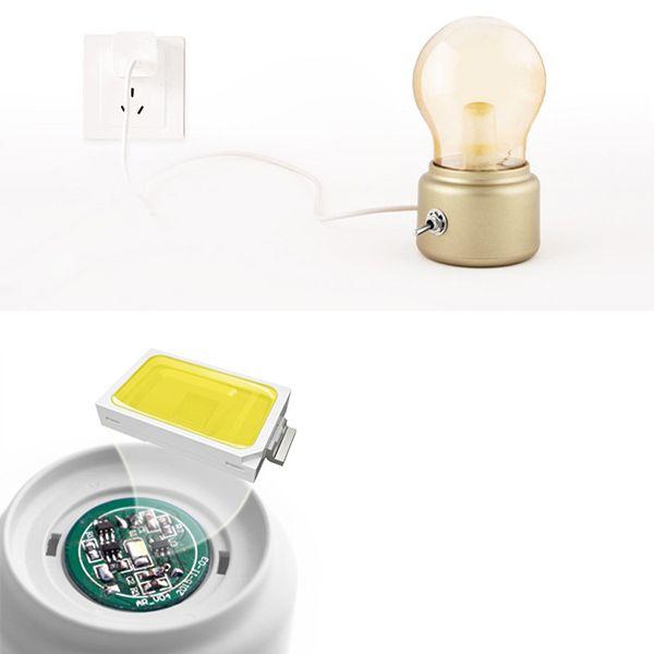 Adornment LED USB Energy Saving Bulb Lamp Small Night Light