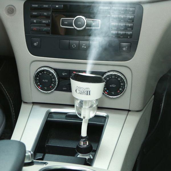 1 USB Jack Air Purifier Aromatherapy Fogger Mini Car Humidifier