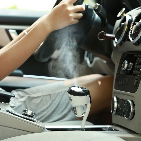 1 USB Jack Air Purifier Aromatherapy Fogger Mini Car Humidifier
