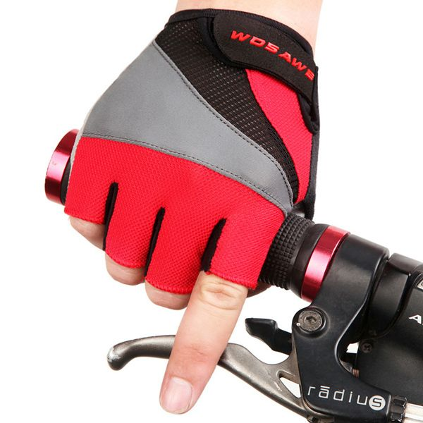 Breathable Antislip Half Finger Cycling Gloves