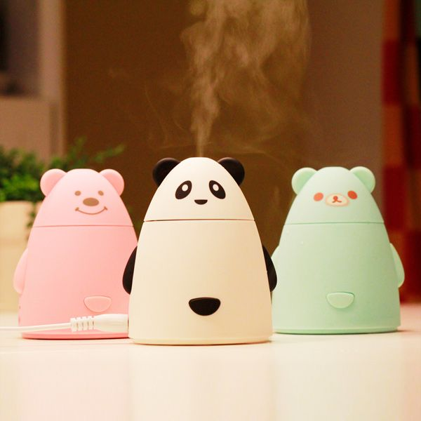 Air Purifier USB Cartoon Mini Bear Humidifier