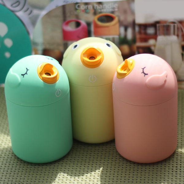 Mini Bird Car USB Ultrasonic Mute Air Purifier Humidifier