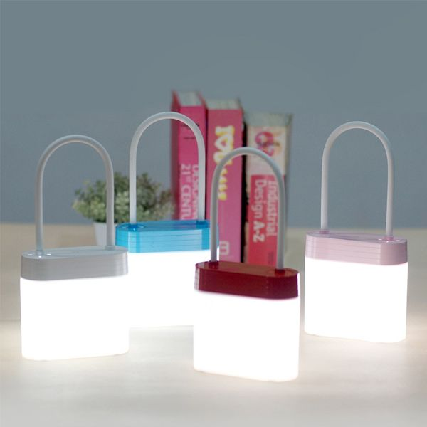 Multifunction Rechargeable Padlock Shape LED Night Light