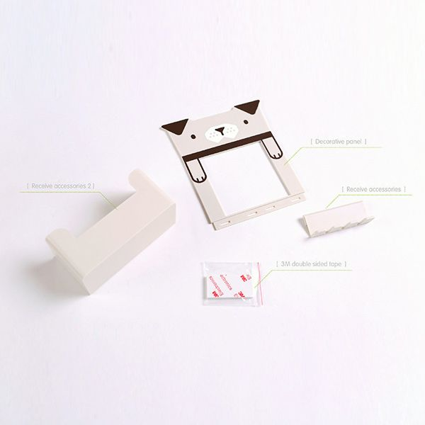 Creative Multipurpose Cartoon Animal Pattern Toothbrush Holder