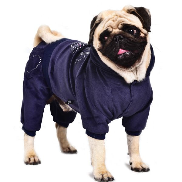 Soft Pink Sport Wear Four Feet Dog Hoodies Pet Warm Clothes