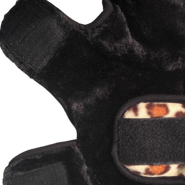 Thickening Soft Nap Leopard Print Jacket Coat Winter Warm Puppy Clothes