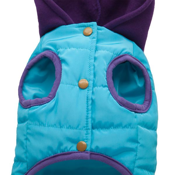 Thickening Hooded Assorted Colors Winter Warm Two Feet Puppy Clothes