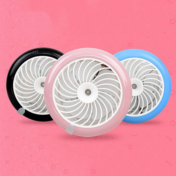Mobile Power Supply Rechargeable USB Portable Beauty Spraying Humidifiers Fan
