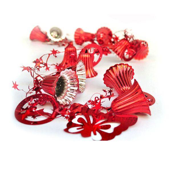 Christmas Festival Party Supplies Bells Rattan Decoration