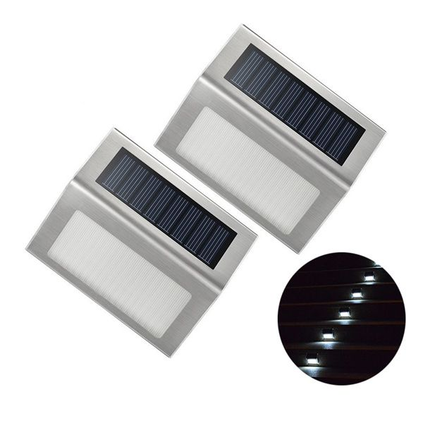LED Solar Garden Lights Outdoor Decorative Waterproof Courtyard Wall Lamp
