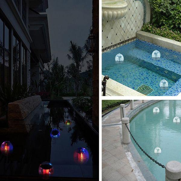 Decorative Garden Outdoor Waterproof Courtyard Colorful Solar Hanging Lamp