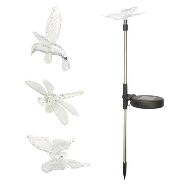 LED Solar Garden Lights Outdoor Decorative Waterproof Flight Lawn Lamp