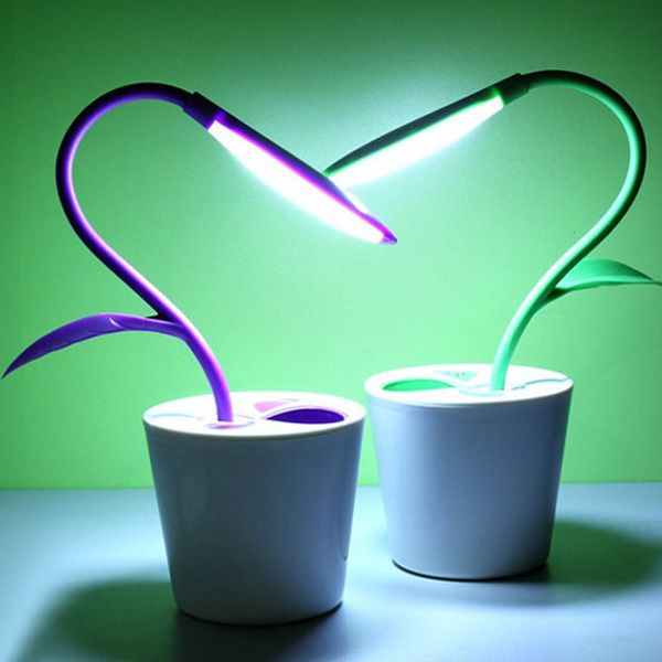Creative LED Charging Energy Saving Eye Protection Desk Lamp