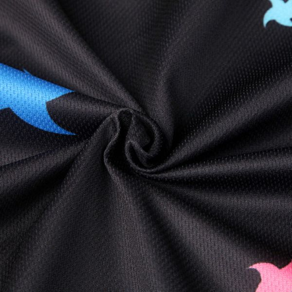 Breathable Stars Sport Long Sleeve Cycling Jersey