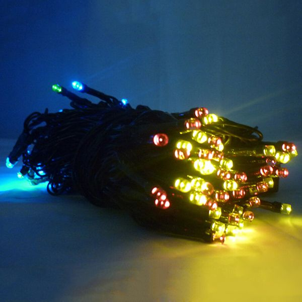 Unusual Christmas String Lights : Christmas Solar Power LED String Light Party Decoration, WHITE in LED Night Lights DressLily.com