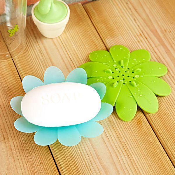 Flexible Petals Silicone Bathroom Soap Holder