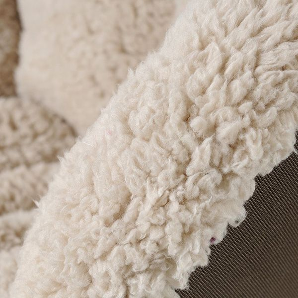 Pure Color Warmth Floor Cushion