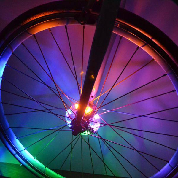 Night Safe Riding Warning LED Bicycle Wheel Lamp