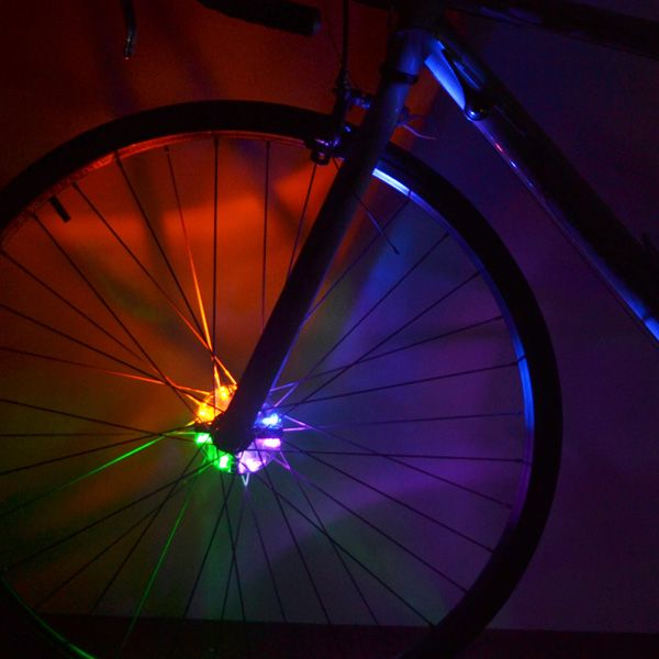 Night Safe Riding Warning LED Bicycle Wheel Lamp