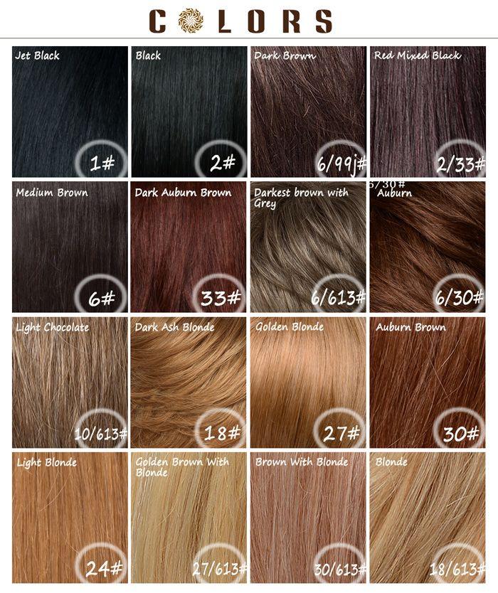Colormix Short Fluffy Layered Inclined Bang Straight Siv Human Hair Wig