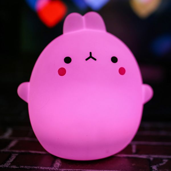 Easter Gift Usb Silica Led Cartoon Night Light Colorful In Led Night Lights