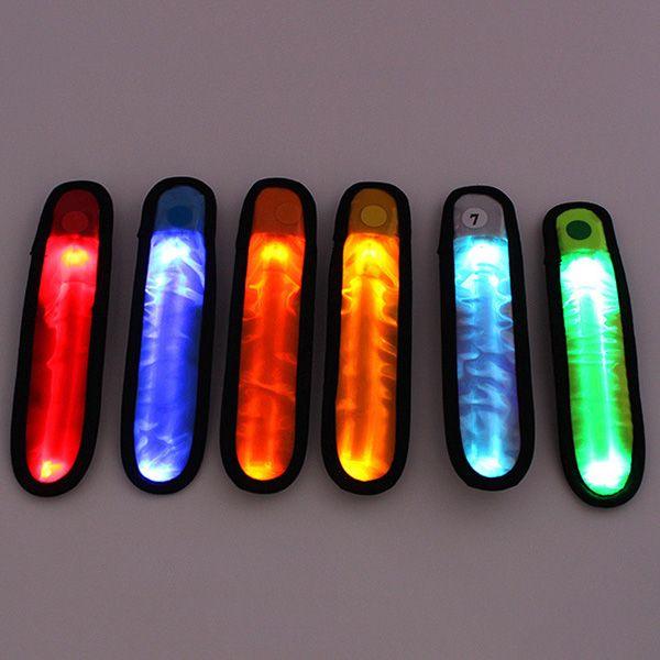Safety Reflective Light Shine Flash Glowing Luminous Armband LED Ankle Band