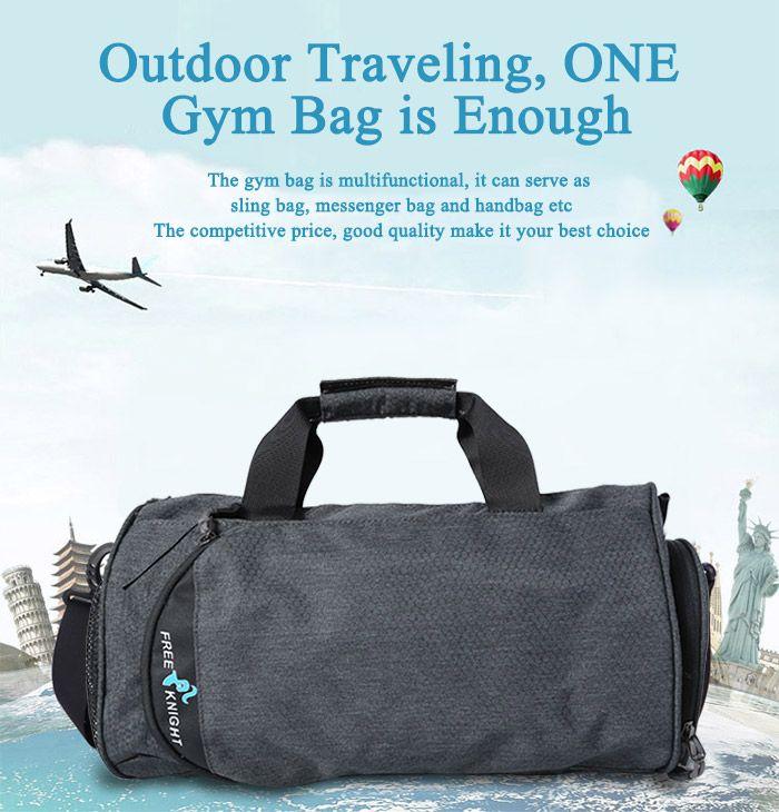 Freeknight Multipurpose Cylinder Water Resistance Gym Bag