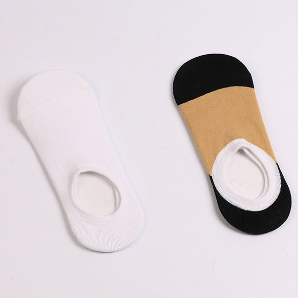 Simple Fitted Skidproof Loafer Socks