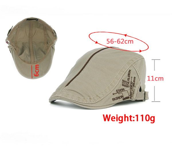 UV Protection Cadet Hat with Embroidery