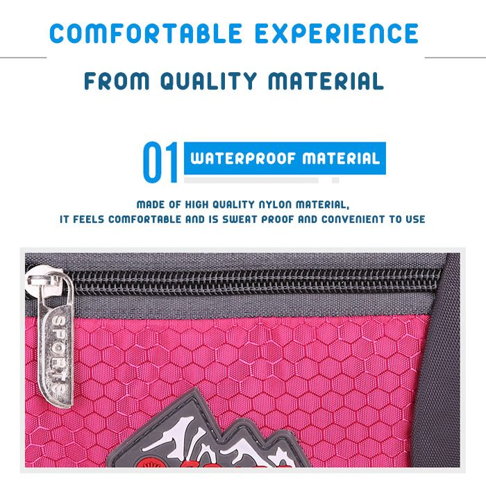 Sports Multifunctional Nylon Waist Bag