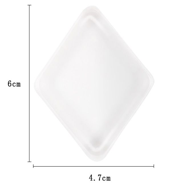 MAANGE Rhombus Shape Silicone Makeup Blender