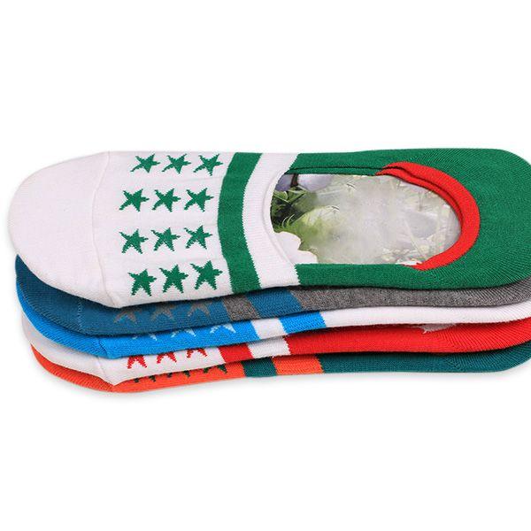 Knited Stars Embellished Loafer Socks