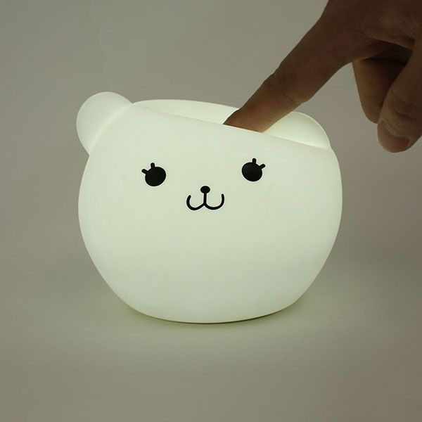 Cartoon Color Changing USB LED Nightlight