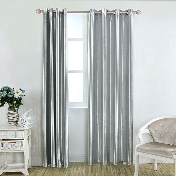 Grommet Thermal Insulated Window Blackout Curtain