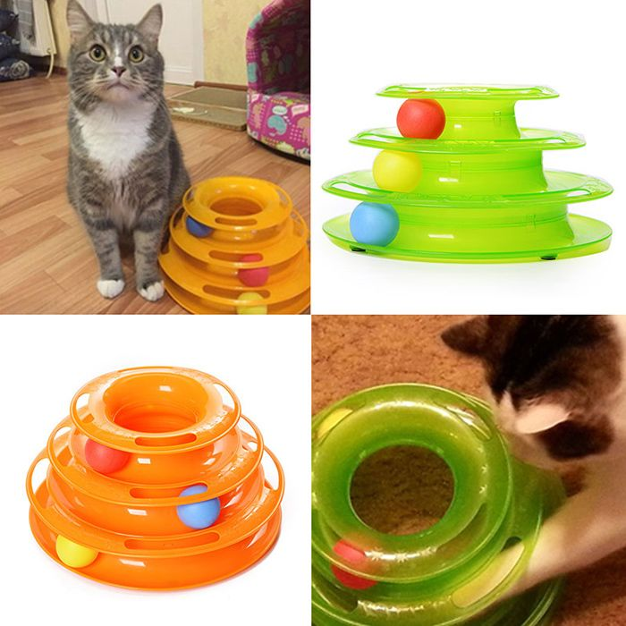 Cat Toy Pet Toy Ball In The Track