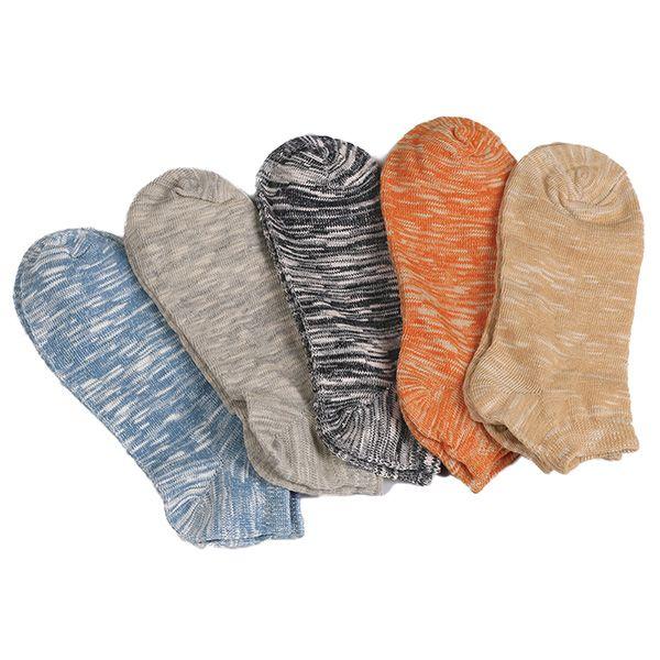 Elastic Knitted Ankle Socks