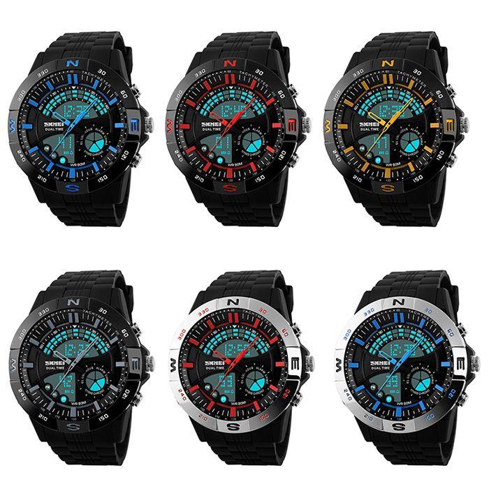 SKMEI Outdoor Timer Tachymeter Digital Sports Watch
