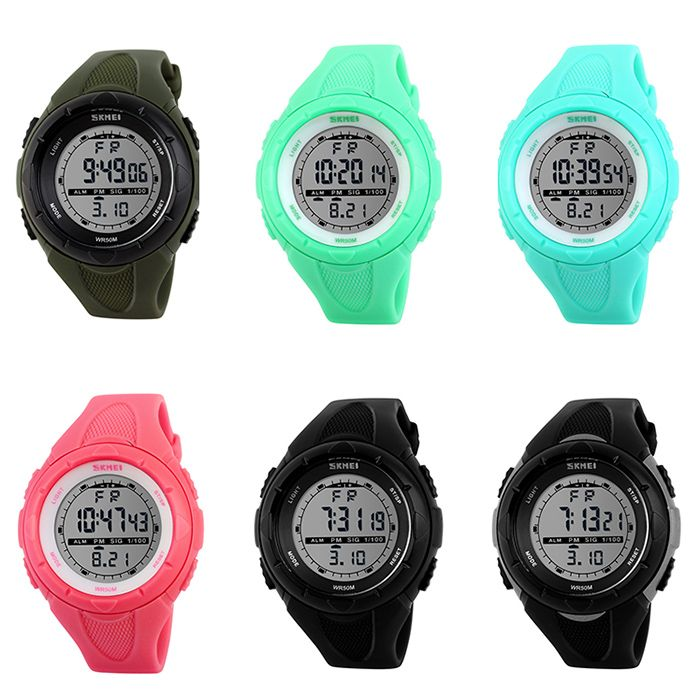SKMEI Outdoor Luminous Digital Sports Watch