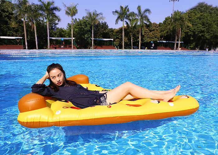 Pizza Shape Inflatable Swimming Float
