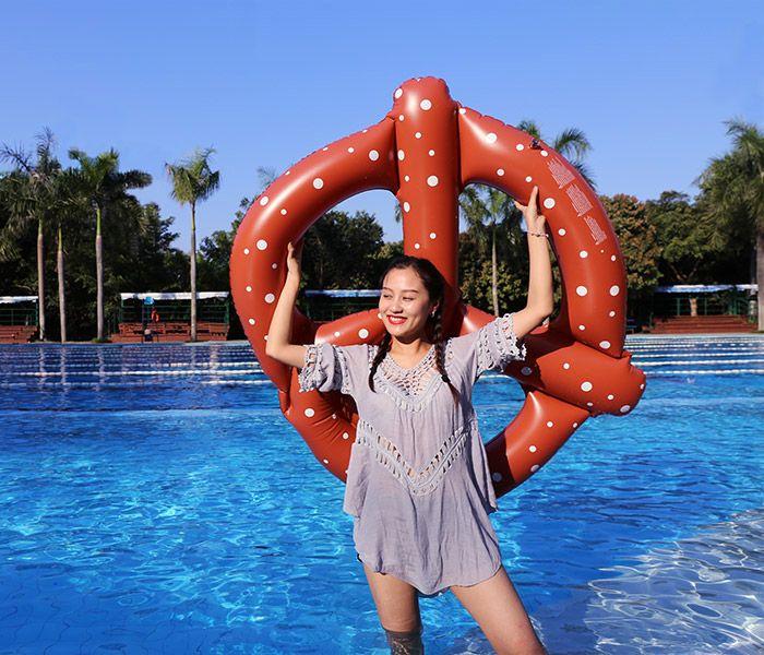 Pretzel Shape Swimming Ring