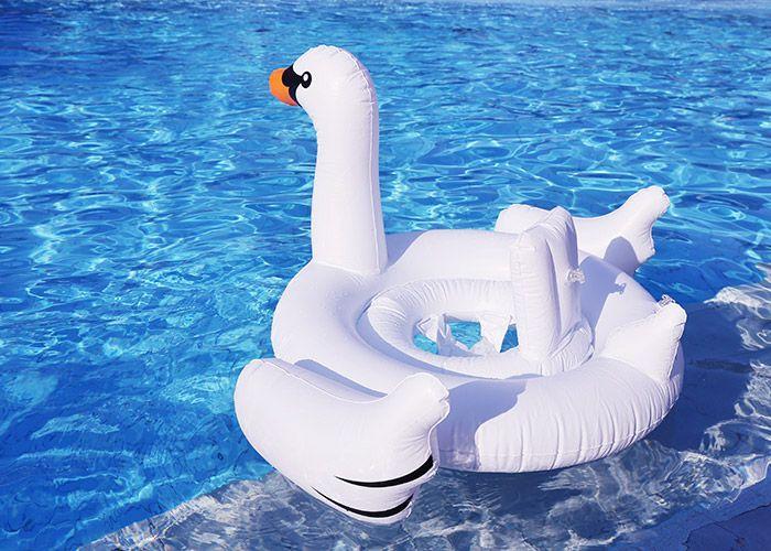 Swan Shape Baby Seat Float
