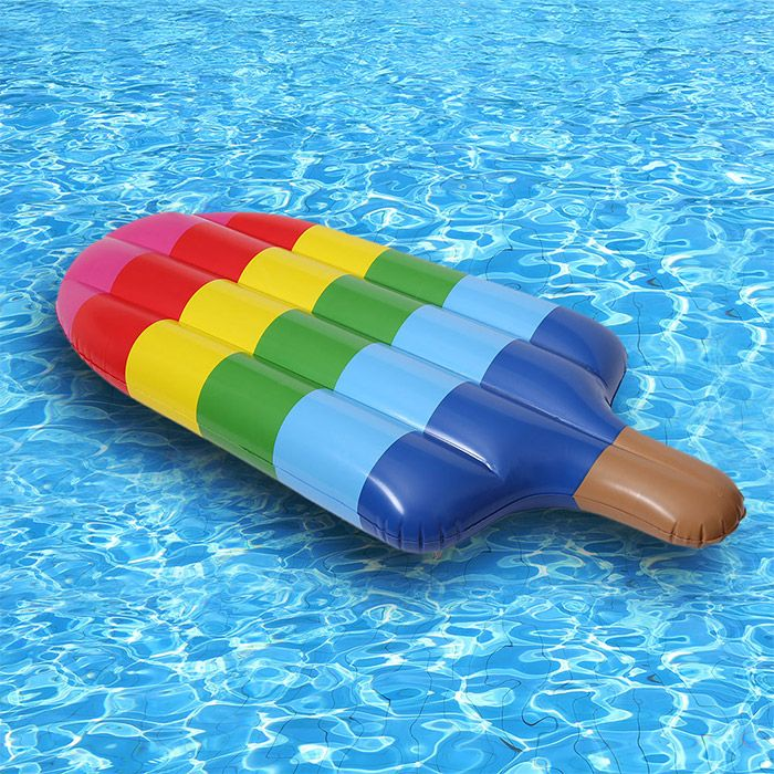 Popsicle Shape Inflatable Swimming Float