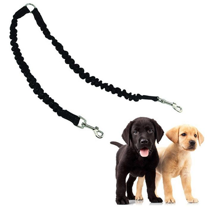 Nylon Stretch Buffer Double End Pet Dog Traction Rope