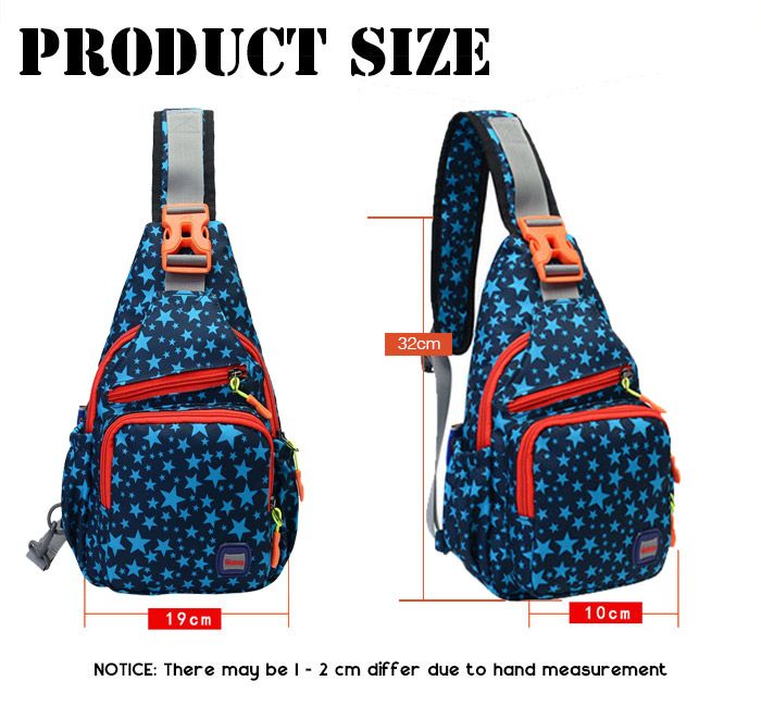 Outdoor Multipocket Chest Bag