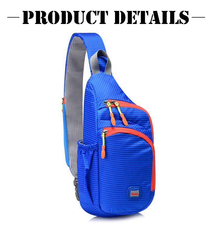 Waterproof Multipocket Chest Bag