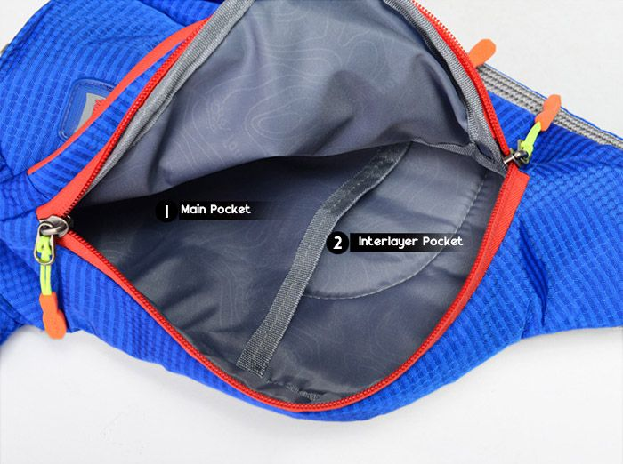 Waterproof Multipocket Chest Bag